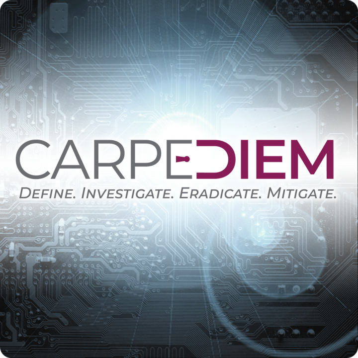 Carpe Diem: A Cybersecurity Seminar.