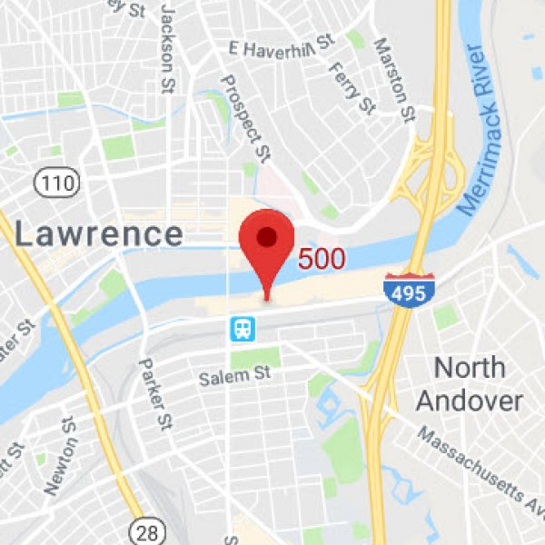 Lawrence Office Map